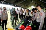 Danrem 102/Pjg : Tingkatkan kesiapsiagaan personel dan sarpras tanggap bencana di Kalteng