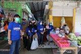 Peringati Hari Sumpah Pemuda, Dispora dan OKP Gowa bagi masker