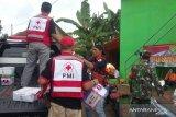 PMI salurkan bantuan untuk korban longsor di Caringin Sukabumi