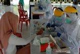 Delapan  pengunjung Borobudur jalani tes COVID-19 dinyatakan negatif