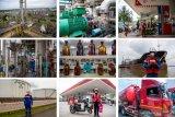 Foto Cerita : Memastikan stok BBM aman di masa Pandemi