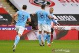 Tanpa penyerang murni, Manchester City mampu atasi Sheffield United