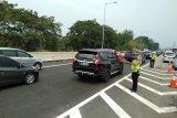 Jalan Tol Jakarta-Cikampek arah Jakarta sempat direkayasa