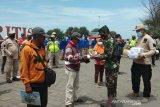 FPRB Bantul mengkampanyekan gerakan pemakaian masker di objek wisata
