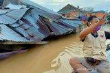 BMKG keluarkan peringatan dini 76 kecamatan d i Sumsel potensi banjir