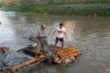 Warga Dasan Agung Mataram dihebohkan penemuan mayat di Kali Jangkuk