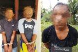 Tiga perampok pengusaha Nagan Raya Aceh ditangkap di Sumut