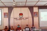 KPU Bantul mengumumkan laporan sumbangan dana kampanye paslon pilkada