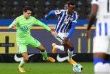 Hertha Berlin akhiri rentetan kekalahan beruntun saat seri lawan Wolfsburg