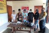 Tiga pengedar ganja ditangkap tim gabungan TNI/Polri