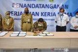 Bantul dan Angkasa Pura teken MoU pengembangan potensi UKM dan pariwisata