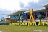 Meski di tengah pandemi, jumlah penumpang di Bandara Pekanbaru meningkat saat libur cuti bersama