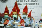 Kakanwil Kemenkumham Sulsel ikuti Desk Evaluasi Zona Integritas Kemenpan-RB