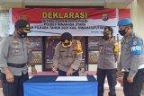Kapolres Minut beri sanksi personel tidak netral dalam Pilkada