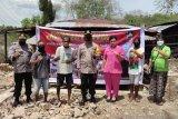 Polres Kupang bangun rumah  bagi warakawuri