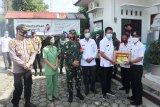 Bupati Barut hadiri pembagian masker massal Kodim 1013 Muara Teweh
