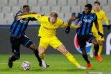 Halland sumbang dwigol kala Dortmund menang 3-0 di kandang Brugge