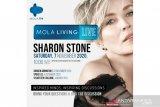 Sharon Stone bagi kisah hidup dengan penggemarnya di Indonesia