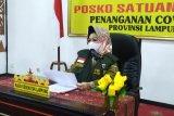 Kasus meninggal akibat COVID-19 di Lampung bertambah 3 dan 10 sembuh