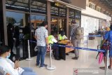 Arus keberangkatan penumpang udara bandara Jayapura masih normal