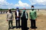 Plt Gubernur cek kesiapan sarana pendukung 'food estate' di Kapuas