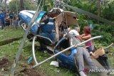 Helikopter jatuh di Malaysia, dua orang tewas