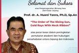 Guru Besar Unhas Makassar  terima penghargaan bintang jasa dari Kaisar Jepang