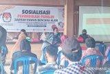 KPU Donggala  gelar pendidikan pemilih di daerah rawan bencana