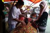 Harga cabai rawit  di Makassar naik dua kali lipat
