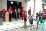 Evakuasi warga lereng Merapi di  Tlogolele patuhi protokol kesehatan
