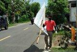 Bawaslu Gunung Kidul tertibkan ratusan peraga kampanye langgar aturan
