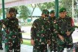 Pangdam I/BB cek kesiapan prajurit Yonif 131/BS Pratugas Pamtas RI-PNG