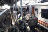 KAI berangkatkan seribuan anggota TNI yang akan laksanakan latihan Ancab di Baturaja