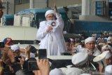 Benarkah Rizieq Shihab pernah bersumpah tak mau pulang ke Indonesia?