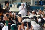 Habib Rizieq Shihab Tiba Dibandara Soekarno Hatta