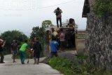 Ratusan ternak di daerah rawan erupsi Gunung Merapi Sleman belum diungsikan