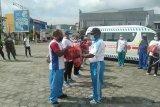 Dinkes Papua bagi ribuan masker cegah COVID-19