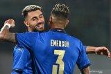 Grifo sumbang dwigol saat Italia menang 4-0 atas Estonia