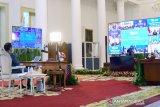 Presiden Joko Widodo hadiri KTT ke-37 ASEAN secara virtual