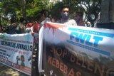 KPU Lombok Tengah didemo wartawan