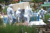 Pemulangan jenazah COVID-19 di Kotim ini dikawal ketat satgas