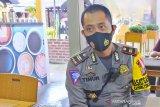 Satlantas Polres Palu bagi 5000 masker dalam Operasi Zebra 2020