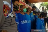 14 orang anggota sindikat pencuri kabel Telkom di Semarang diringkus
