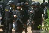 Dalam sepekan, tujuh terduga teroris ditangkap di empat provinsi
