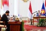 Presiden hadiri secara virtual KTT ASEAN dengan sejumlah negara mitra