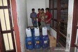 Polres Yalimo tahan empat penyelundup minuman beralkohol antarkabupaten