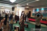IDI Kudus selenggarakan pelatihan senam melawan COVID-19 untuk santri