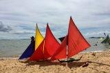 Ratusan Jong berpacu di Pantai Sembulang, Pulau Rempang