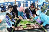 Disbudparpora Barut lestarikan kuliner tradisional khas Dayak 'Malamang'