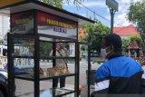 Nasi bungkus gratis dari Polresta Yogyakarta habis dalam 10 menit